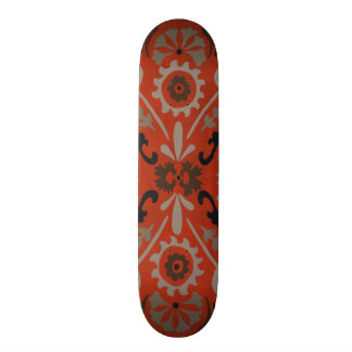 Cinnabar Suzani I Skateboard