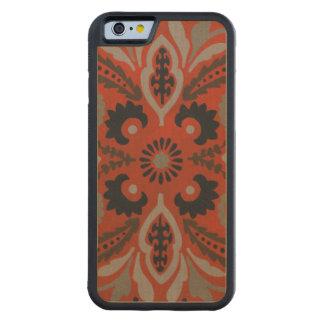 Cinnabar Suzani II Carved Maple iPhone 6 Bumper Case
