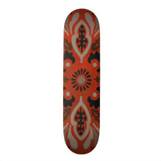 Cinnabar Suzani II Skateboard Deck