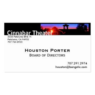 Cinnabar Theater Board of Directors Business Card
