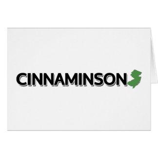 Cinnaminson, New Jersey Tarjeta De Felicitación