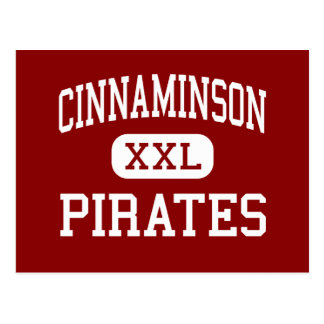 Cinnaminson - piratas - alto - Cinnaminson Tarjetas Postales