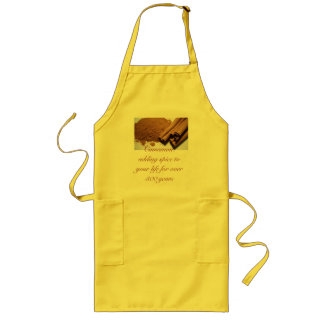 Cinnamon: adding spice to your life... long apron