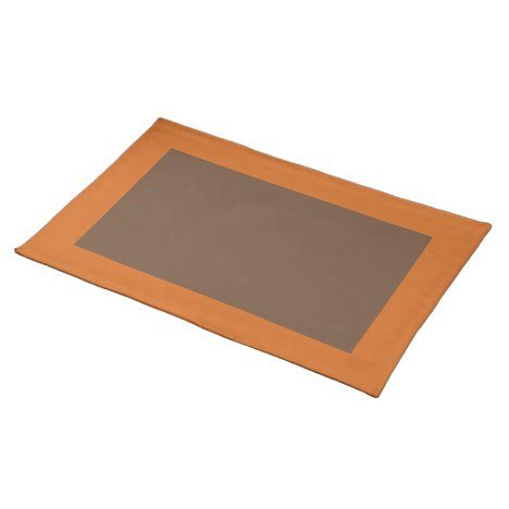 Cinnamon and Coffee-Colored Placemat