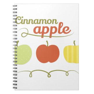 Cinnamon Apple Note Book