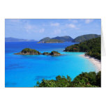 Cinnamon Bay Beach, St. John, U.S. Virgin Islands  Greeting Card