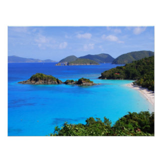 Cinnamon Bay St. John, U.S. Virgin Islands 24 x 18 Poster