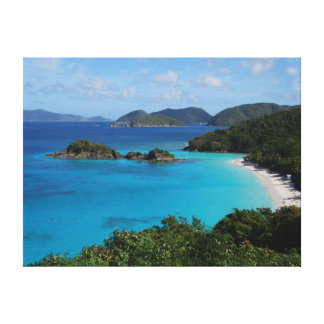 Cinnamon Bay, St. John, U.S. Virgin Islands Canvas Print