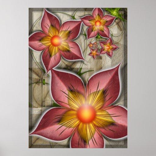 Cinnamon Blooms Posters