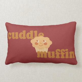 Cinnamon Brown Cuddle Muffin Throw Pillows