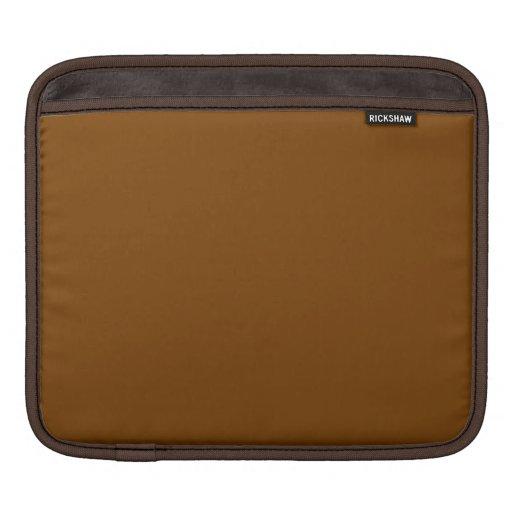 Cinnamon Brown iPad Sleeve Macbook Air Sleeve