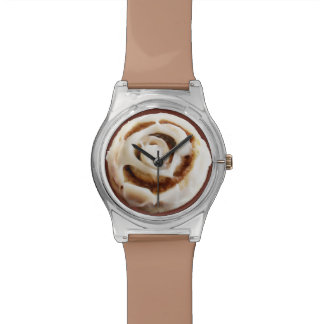 Cinnamon Bun with Icing Watches