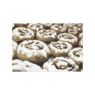 Cinnamon Buns Gallery Wrapped Canvas