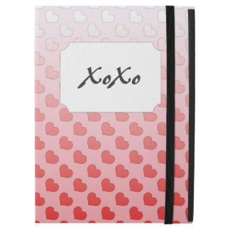 Cinnamon Candy Hearts Red and Pink iPad Pro Case