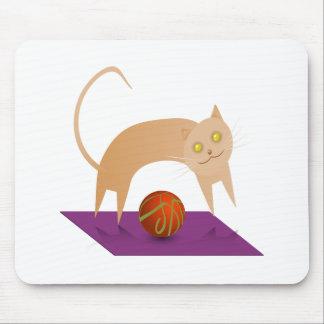 Cinnamon Cat Mouse Pad