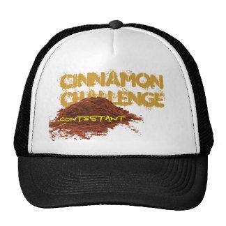 Cinnamon Challenge OFFICIAL CONTESTANT TROPHY CAP Mesh Hats