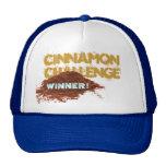 Cinnamon Challenge WINNER Hat