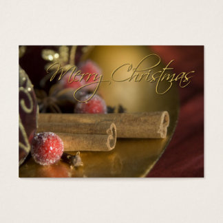 Cinnamon • Christmas Profilecard / Gift Tag
