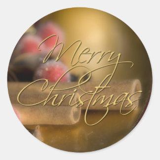 Cinnamon • Christmas Sticker