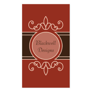 Cinnamon Classic Harvest Business Cards