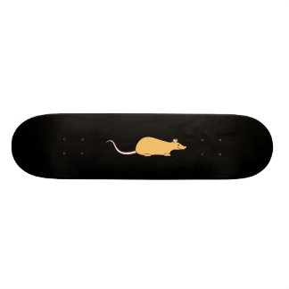Cinnamon Color Pet Rat. Skateboards