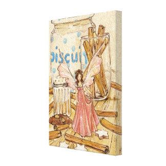 """Cinnamon Fairy"" Canvas Stretched Canvas Prints"