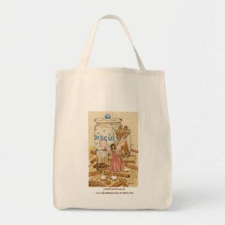 Cinnamon Fairy Grocery Tote Bag