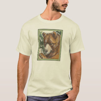 Cinnamon Grizzly Bear T-Shirt