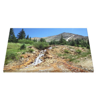 Cinnamon Gulch Colorado canvas wrap Canvas Print
