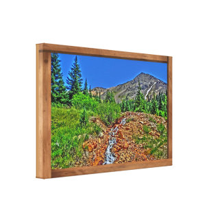 Cinnamon Gulch Colorado scenic canvas print
