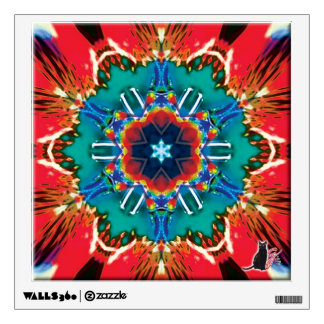Cinnamon Kaleidoscope Wall Sticker