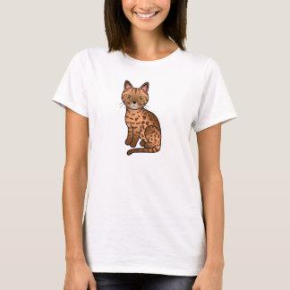 Cinnamon Ocicat Cat T-Shirt