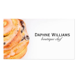 Cinnamon Roll Business Card