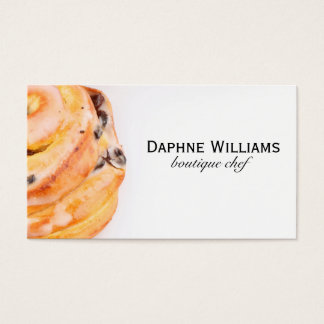 Cinnamon Roll Business Card