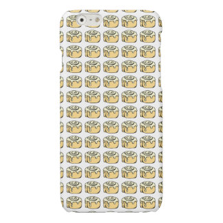 Cinnamon Roll Cartoon Design Funny Glossy iPhone 6 Case