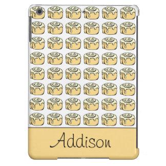 Cinnamon Roll Cartoon Design Funny Personalized iPad Air Cover