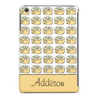 Cinnamon Roll Cartoon Design Funny Personalized iPad Mini Case