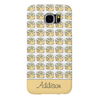 Cinnamon Roll Cartoon Design Funny Personalized Samsung Galaxy S6 Cases