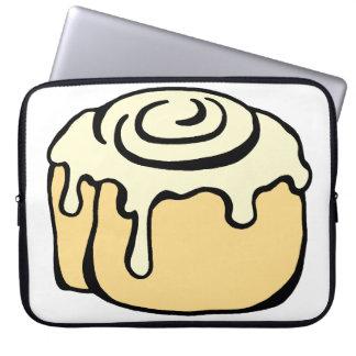 Cinnamon Roll Honey Bun Cute Cartoon Computer Sleeve