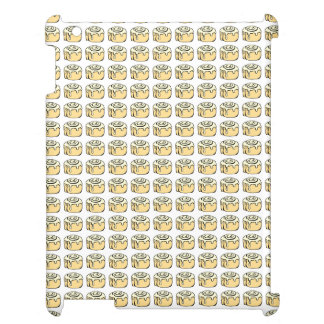Cinnamon Roll Honey Bun Cute Cartoon Design Cover For The iPad