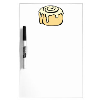 Cinnamon Roll Honey Bun Cute Cartoon Design Dry-Erase Board