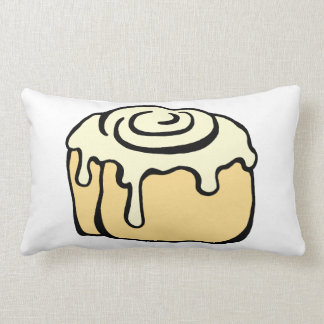 Cinnamon Roll Honey Bun Cute Cartoon Design Pillow