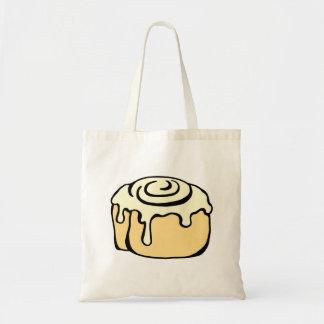 Cinnamon Roll Honey Bun Cute Cartoon Design Tote Bag