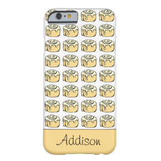 Cinnamon Roll Honey Bun Cute Cartoon Personalized Barely There iPhone 6 Case