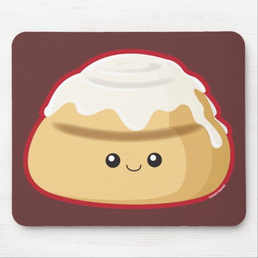 Cinnamon Roll Mouse Pads