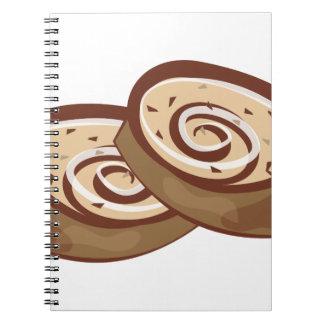 Cinnamon Roll Notebook