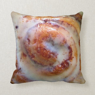 Cinnamon roll pillow