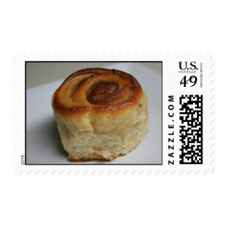 cinnamon roll postage stamps