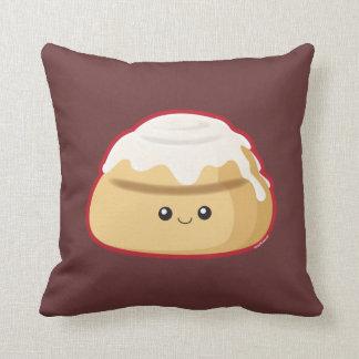 Cinnamon Roll Throw Pillow