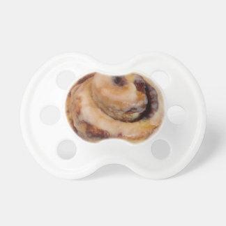 Cinnamon rolls baby pacifiers